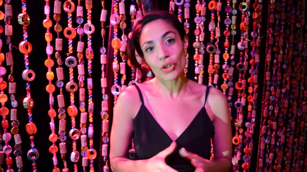 El espect culo del d a 130 cortina de abalorios 16 05 13 youtube - Como coser cortinas paso a paso ...