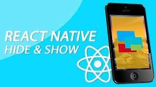 React Native Tutorial - Show And Hide Other Components On Press