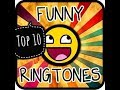 Top 10 most funny ringtone ever 😀😀| download links in the Description 😎😎😎😋