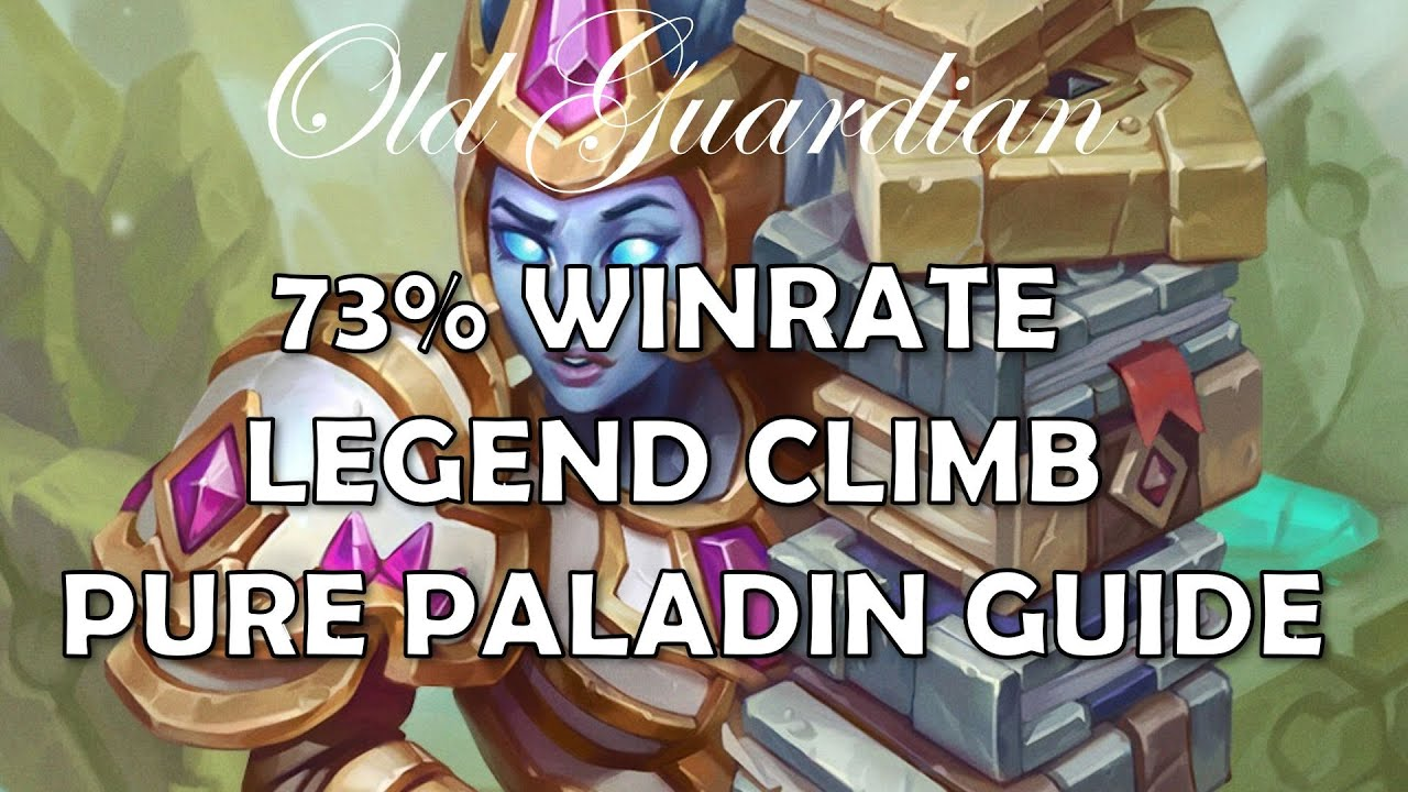 Pure Paladin deck guide and gameplay (Hearthstone Ashes of Outland)