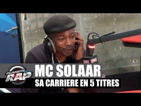 MC Solaar - Sa carrière en 5 titres...