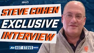 Mets owner steve cohen makes an exclusive guest appearance on hot stove and talks with gelbs about pivoting to strictly a gm search, landing big-n...