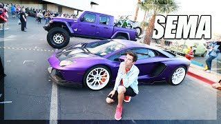 Reviewing YouTubers cars at SEMA 2019 [Ultra Roadtrip Ep.4]