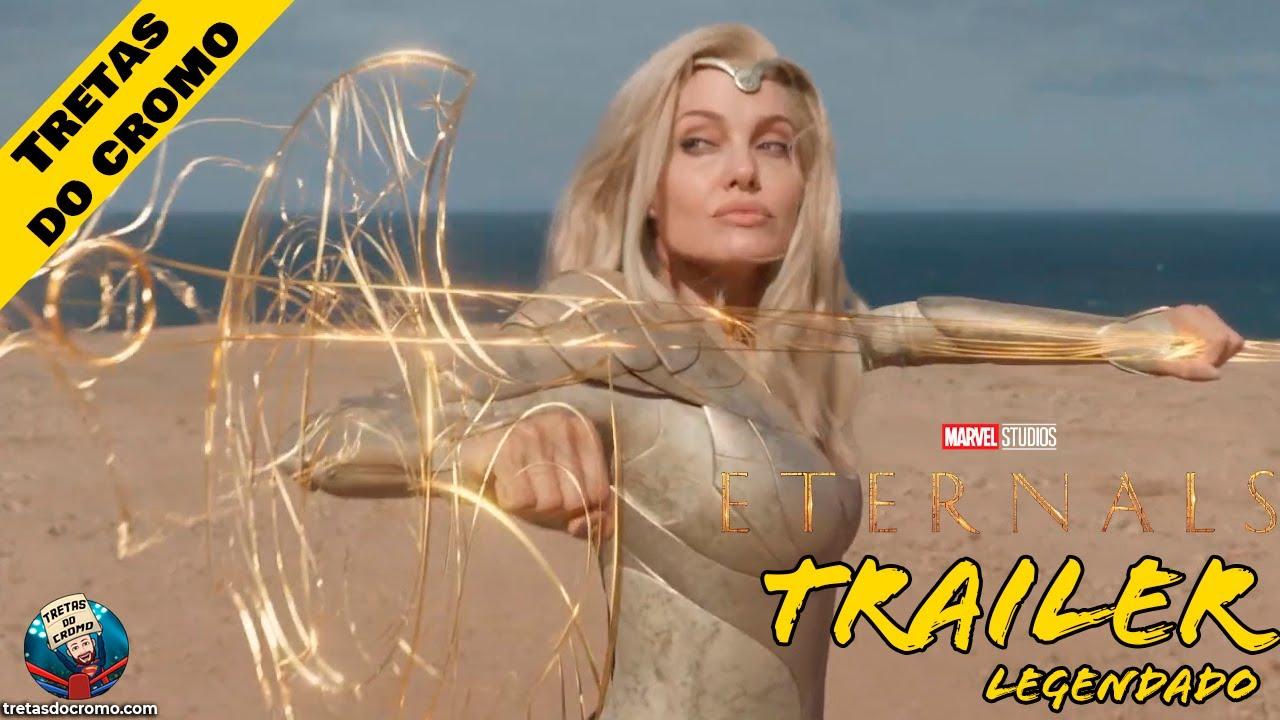 Trailer final para Eternals, partilhado pela Marvel Studios