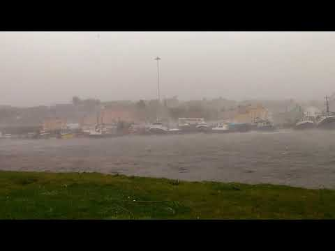 Hurricane ophelia ireland castletownbere  16/10/2017