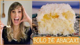 Bolo Bombástico – Bolo Gelado Delicioso de Abacaxi