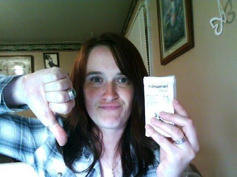 Lg Pocket Photo Printer Polaroid Pogo Paper Vs Lg Paper Youtube