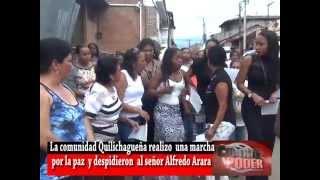 MARCHA POR LA PAZ EN SANTANDER DE QUILICHAO