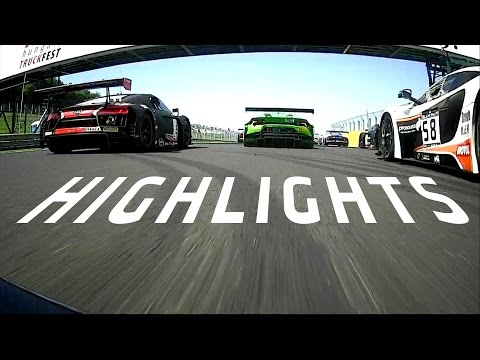 Main Race Highlights - Hungaroring - Blancpain GT Series Sprint Cup