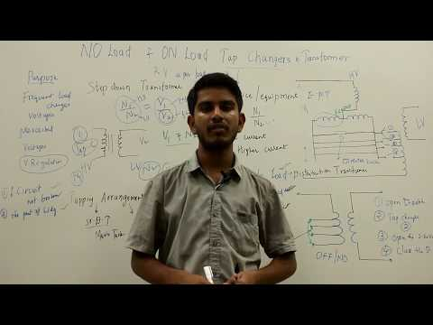 No Load & On Load Tap Changer In Transformer