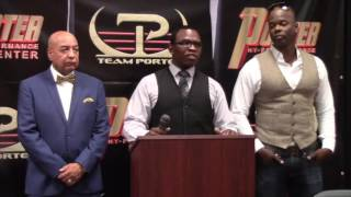 KENNY PORTER - 'WE LANDED DOUBLE THE AMOUNT OF JABS IN THE FIGHT. SHAWN DONE EVERYTHING I ASKED'