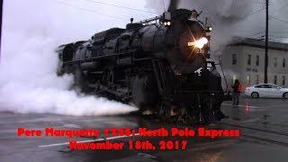 Pere Marquette 1225: North Pole Express 11-18-2017