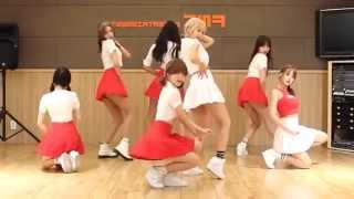 AOA - Heart Attack - mirrored dance practice video - Ace Of Angels - 에이오에이 심쿵해 안무영상