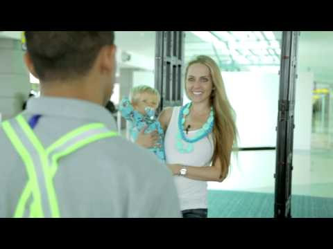 How to go through TSA Airport Security with a Baby - Tips by Family Travel Expert Brianna Meighan