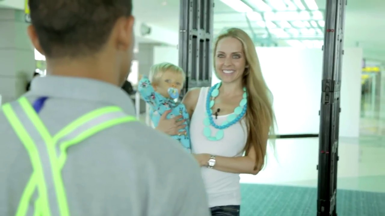 how to go through tsa airport security with a baby tips by