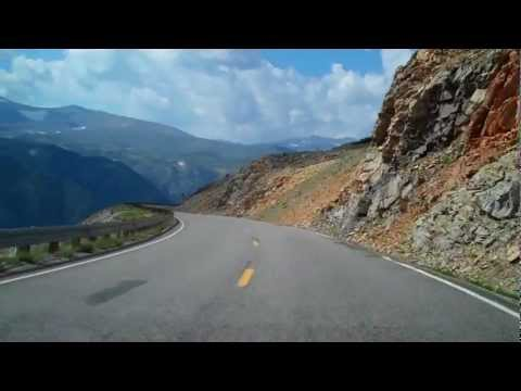 The Beartooth Highway: Descending Toward Red Lodge, Montana, August 11, 2012