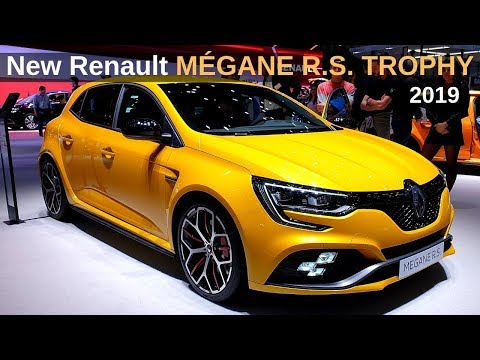 New Renault MEGANE RS TROPHY 2019 Review Interior Exterior
