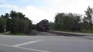 Railfanning Auburn Maine