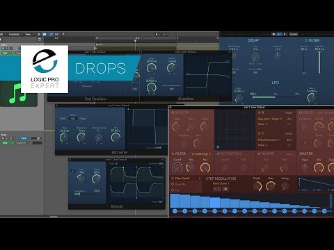 How To Create Your Own Unique Bass Drops In Logic Pro X
