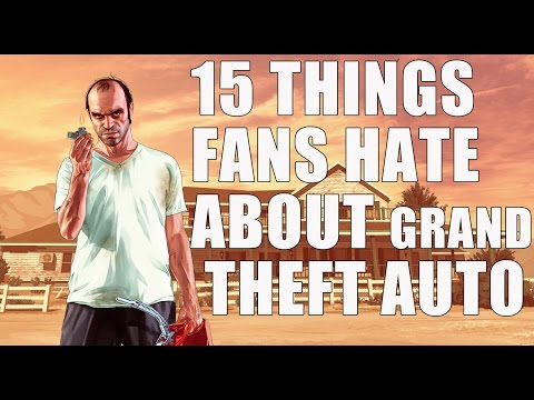 15 Things Hardcore Fans Absolutely Hate About Grand Theft Auto