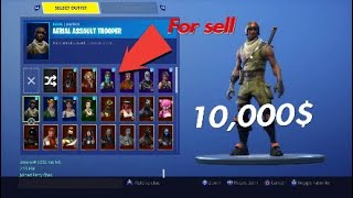 Selling my 2500$ OG Fortnite account!!!!
