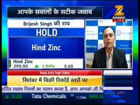 View on Hindustan Zinc Ltd : StockAxis