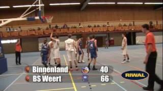 Binnenland U20 vs BS Weert U20
