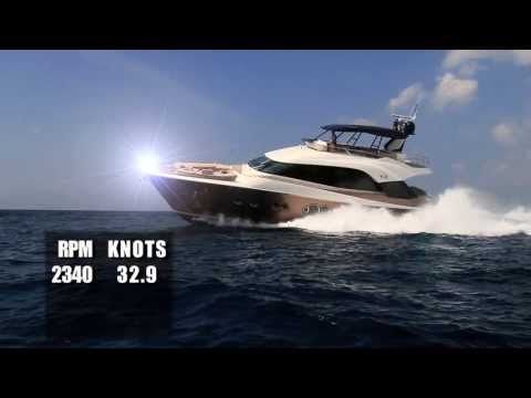 Monte Carlo Yachts 70 Test 2013- By BoatTest.com