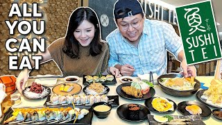 COBAIN SUSHI TEI ALL YOU CAN EAT !! WORTH IT GAK SIH ??
