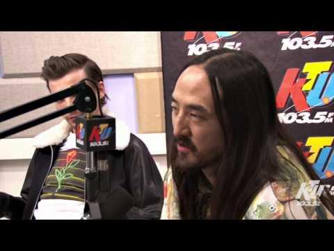 1035 KTU Lulu Y Lala Interview with Steve Aoki & Louis Tomlinson