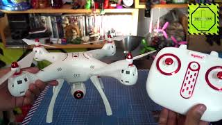 Unboxing Review Syma X8SW en español |DRONEPEDIA