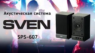 Акустическая система Sven SPS-607 - видео обзор