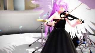 【MMD】 Canon Rock Violin ver. 【Nina Solmia~】