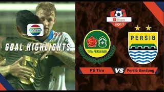 PS Tira-Persikabo (1) vs (1) Persib Bandung - Goal Highlights |  SHOPEE LIGA 1