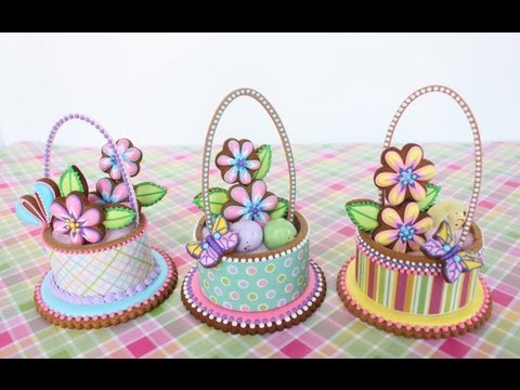 How to Make 3-D Contoured Cookie Baskets (Part of a Dessert Network Collaboration)