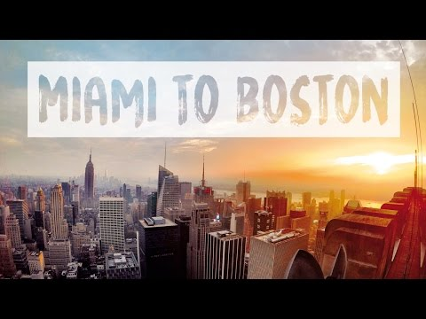 USA EAST COAST ROAD TRIP – MIAMI TO BOSTON