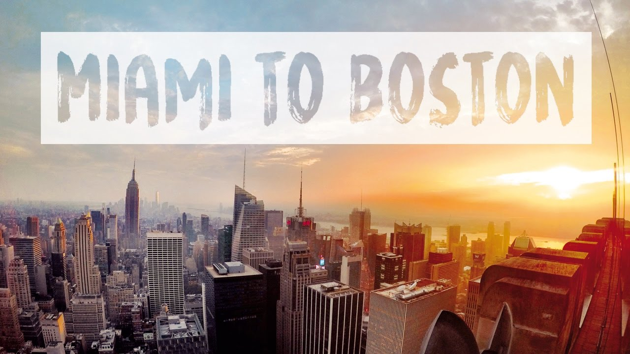 Usa east coast road trip miami to boston youtube for Fun road trip destinations east coast