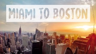 USA EAST COAST ROAD TRIP – MIAMI TO BOSTON