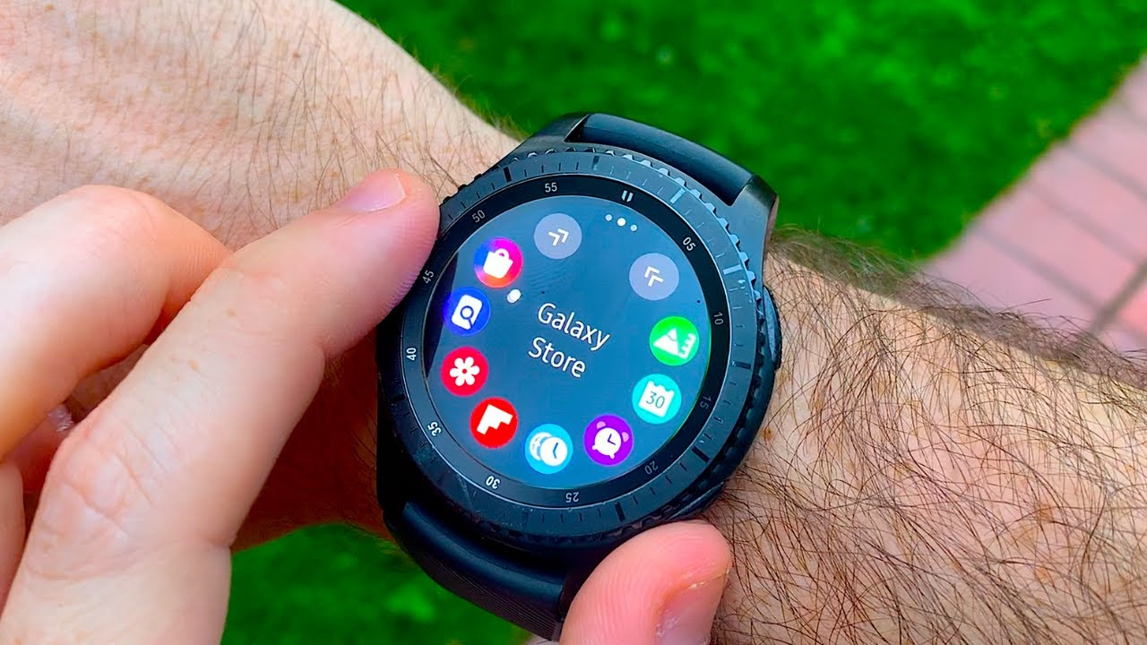 Samsung Gear S3 Frontier Why Not Galaxy Watch Youtube
