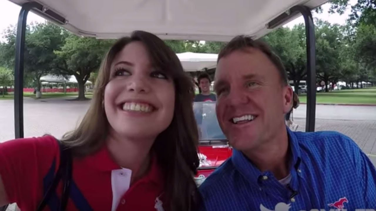 Chad Morris Smu >> SMU's Chad Morris Offers Students Rides To Class | CampusInsiders - YouTube
