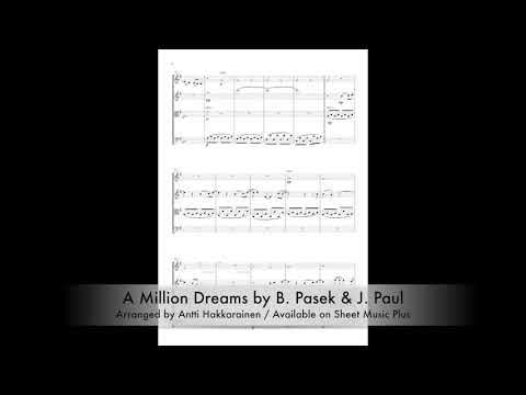 A Million Dreams (from The Greatest Showman) -  String Quartet