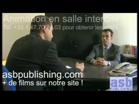 video vente en agence bancaire modèle