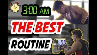 EP 96: Routine 1 Ngày TUYỆT VỜI NHẤT mà tôi từng có!   An Nguyen Fitness