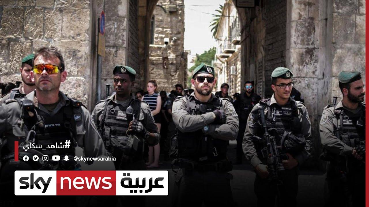 الشرطة الإسرائيلية تشدد إجراءاتها بمحيط المسجد الأقصى  - 16:59-2021 / 4 / 16