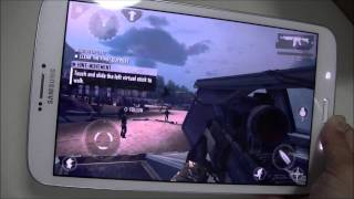 Samsung Galaxy Tab3 8 0 Game test Review
