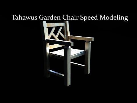 Tahawus Garden Chair Speed Modeling