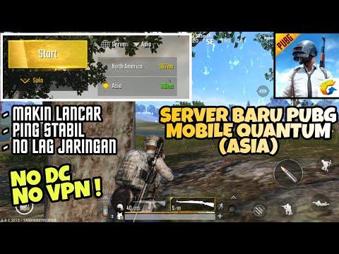 Cara Pilih Server Baru Asia di PUBG Mobile Quantum - Makin Lancar, Ping Stabil, No Lag Jaringan !