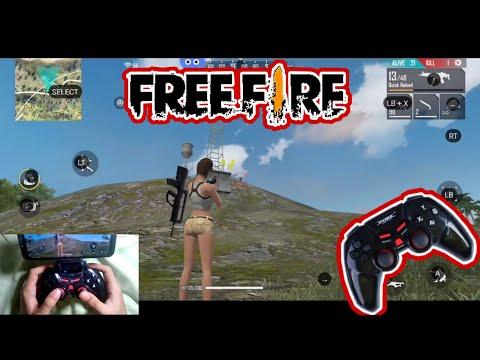 Main Free Fire Menggunakan Stick Bluetooth (Dobe Controller)