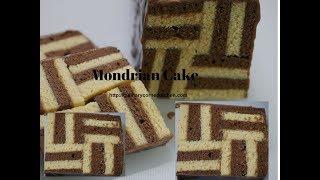 Two Tone  Mondrian cake