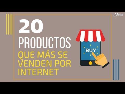 Los 20 productos que más se venden por internet